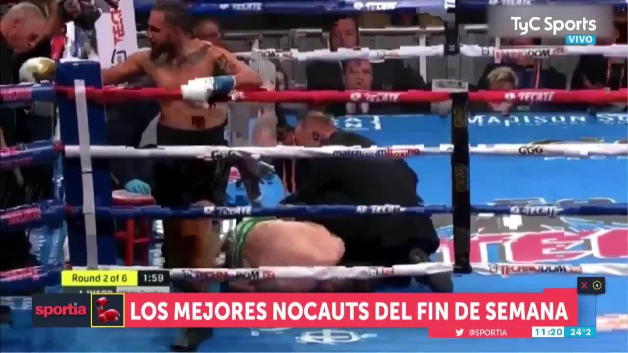 No te pierdas los mejores KOs del fin de semana Boxeo