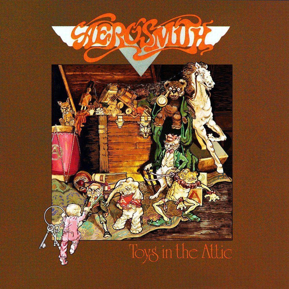The aerosmith toys attic album in