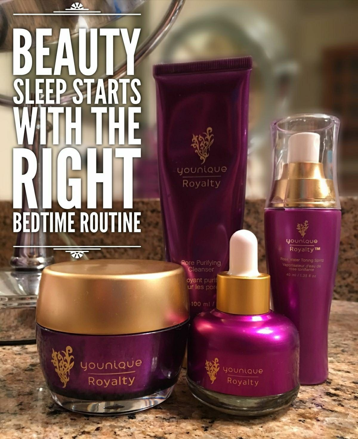 #Beauty Sleep Starts With The Right #Bedtime #Routine ~ #Younique #Royalty