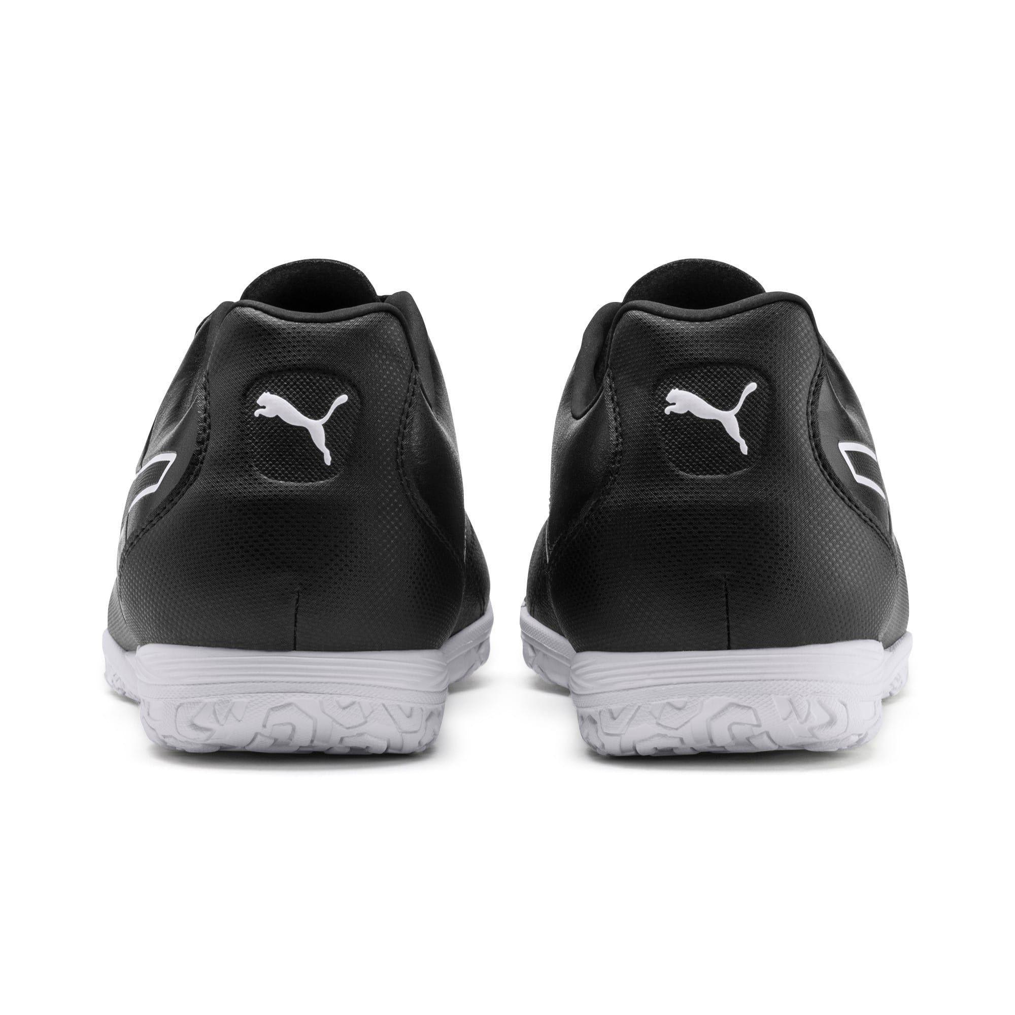 PUMA King Hero IT Football Boots, Black/White, size 6, Shoes