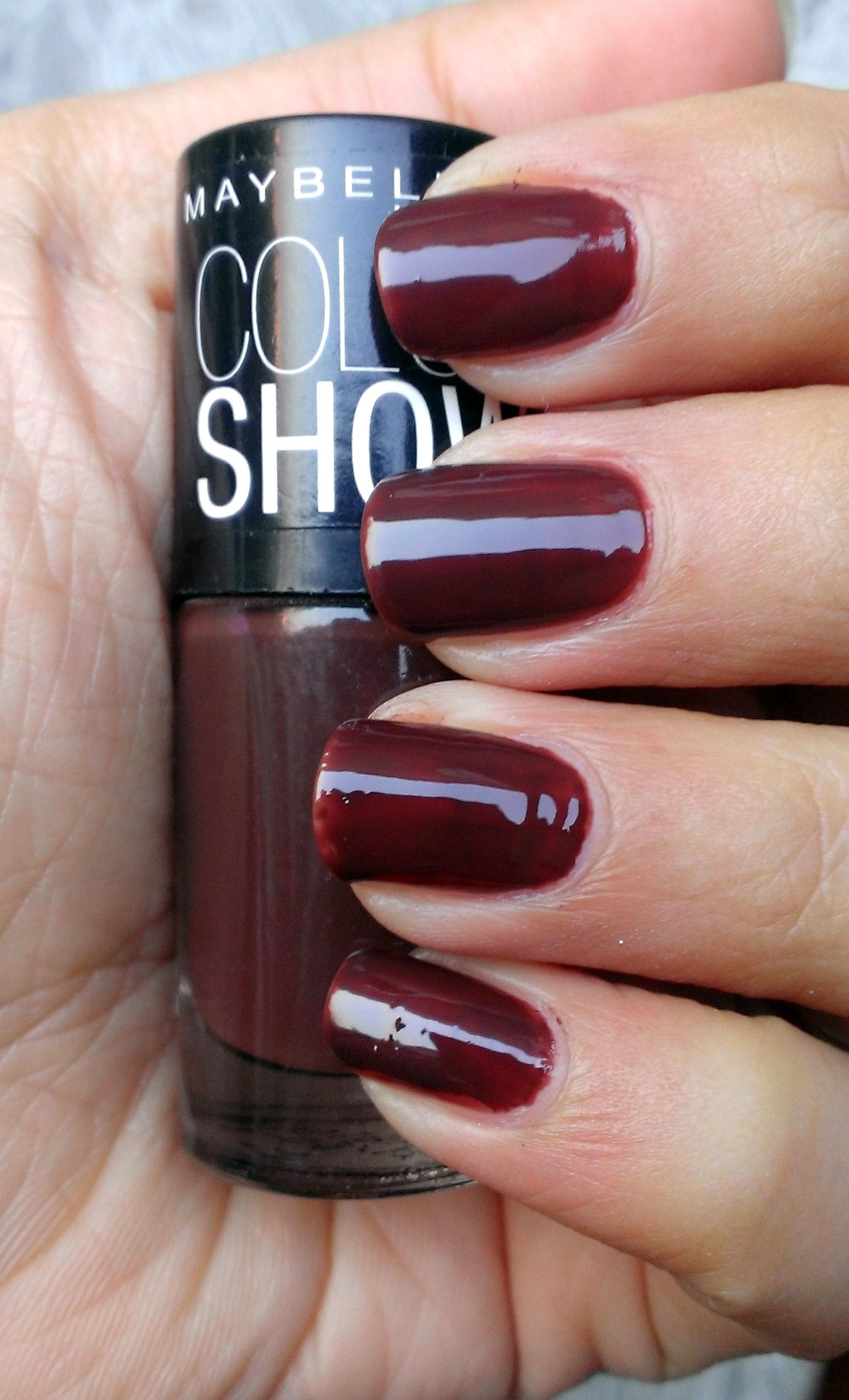 Maybelline Color Show Nail Lacquer Choco Sin