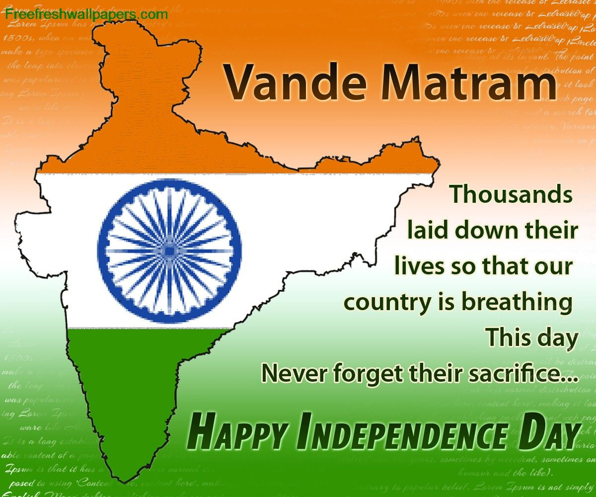 Happy #Independance day to All #Pround #Indians. Sandeep ...