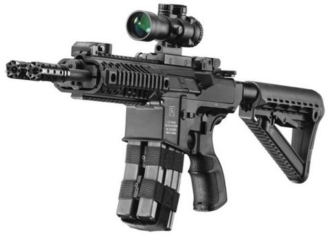 Silver Shadow's Gilboa Snake: the Double-Barreled AR Rifle