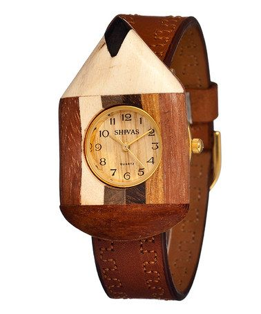 This Camel Number Two Watch by Shivas is perfect! #zulilyfinds