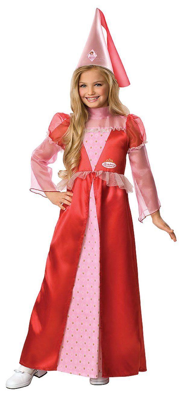 Strawberry Shortcake Princess Child Costume | Strawberry Shortcake Costumes | Pinterest | Children costumes Strawberry shortcake costume and Costumes  sc 1 st  Pinterest & Strawberry Shortcake Princess Child Costume | Strawberry Shortcake ...