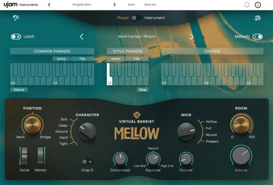 UJAM - Virtual Bassist MELLOW 1 0 0 VSTi (Win) | vst