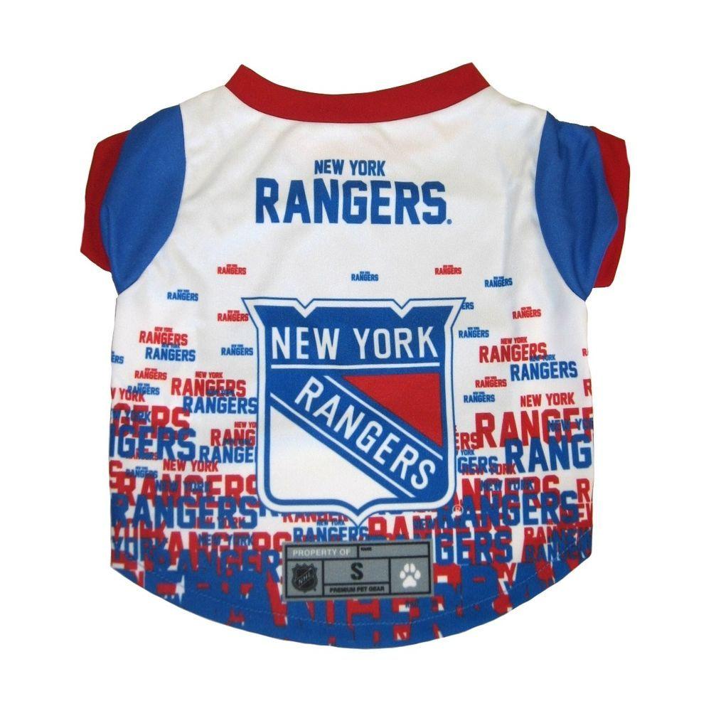 New York Rangers NHL Dog Pet Performance Tee Sizes XS-XL  LittleEarth 5984c13d2