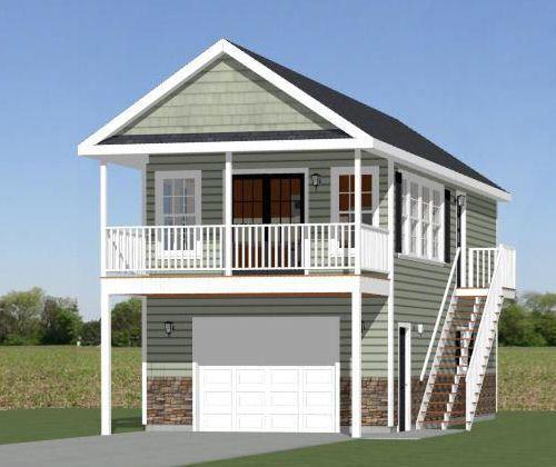 Rv Garage Apartment Plans Pdf Woodworking: 16x36 Tiny House -- 744 Sqft -- PDF Floor Plan