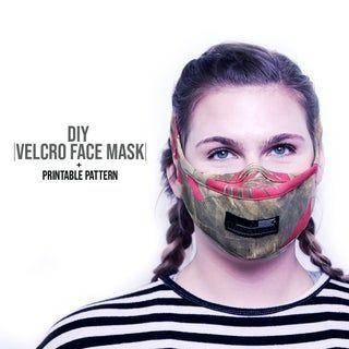 Photo of Velcro Face Mask