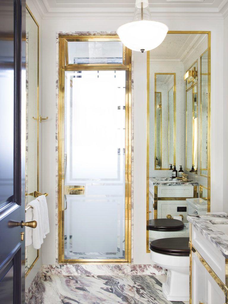 The Glamorous Bathrooms of Steven Gambrel | 118 Bathroom | Pinterest ...
