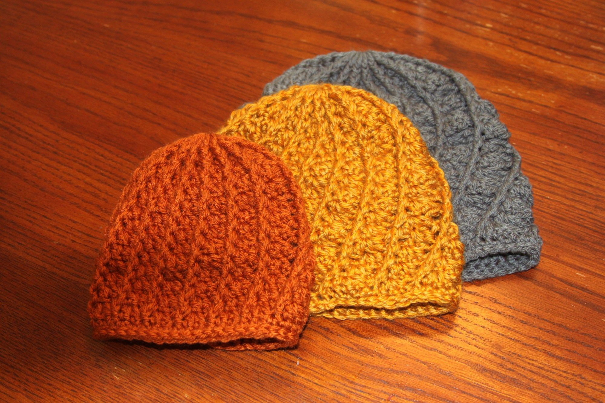 Adult crochet texture hat pattern Materials: Worsted weight yarn ...