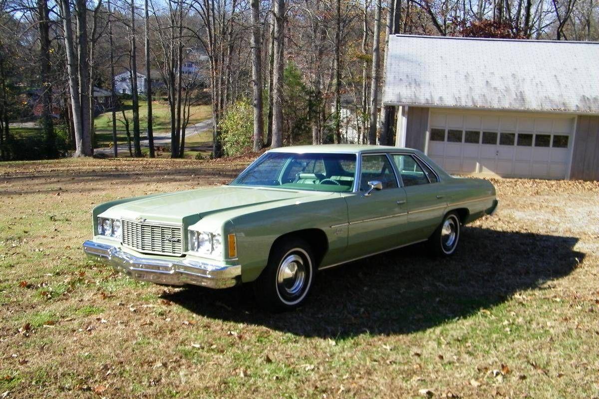 1975 Chevrolet Impala 4 Door For Sale 1725825 Chevrolet Impala Chevrolet Impala