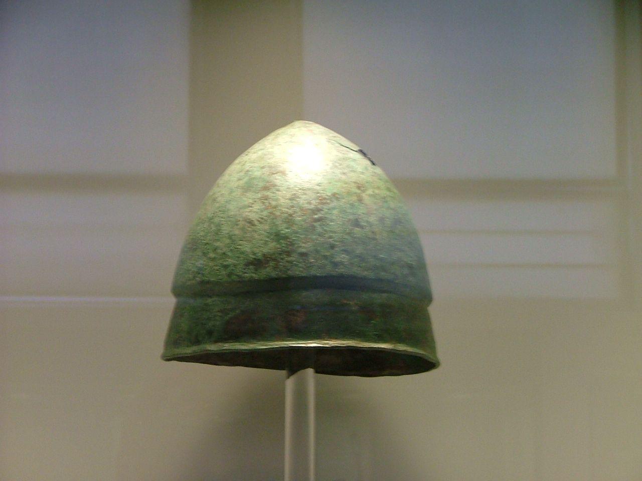 NAMA #Greek helmet of Pilos type - Ancient #Macedonian army - Wikipedia, the free encyclopedia