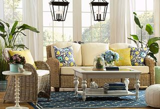 virtual real estate: SUMMER IN THE SUNROOM