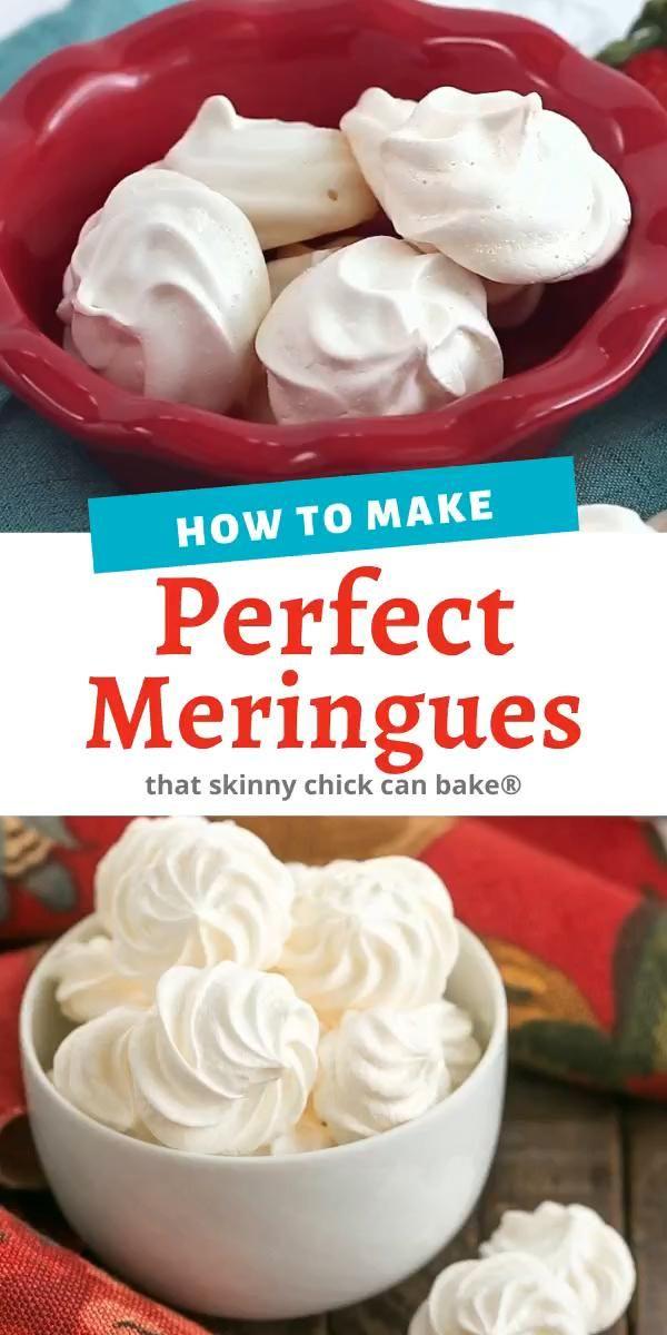 Simple Meringue Cookies Plus Tips for Perfect Resu