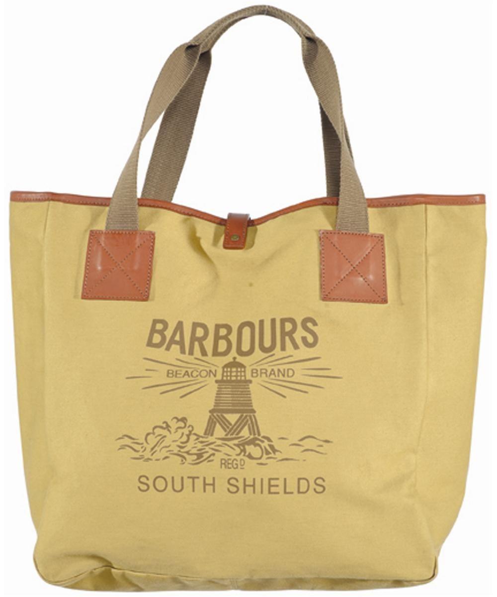 Barbour Canvas Beacon Shopper Bag - Caramel