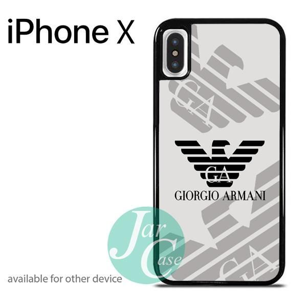 new concept f0bd6 073ef giorgio armani Phone case for iPhone X | awesome case | Armani phone ...