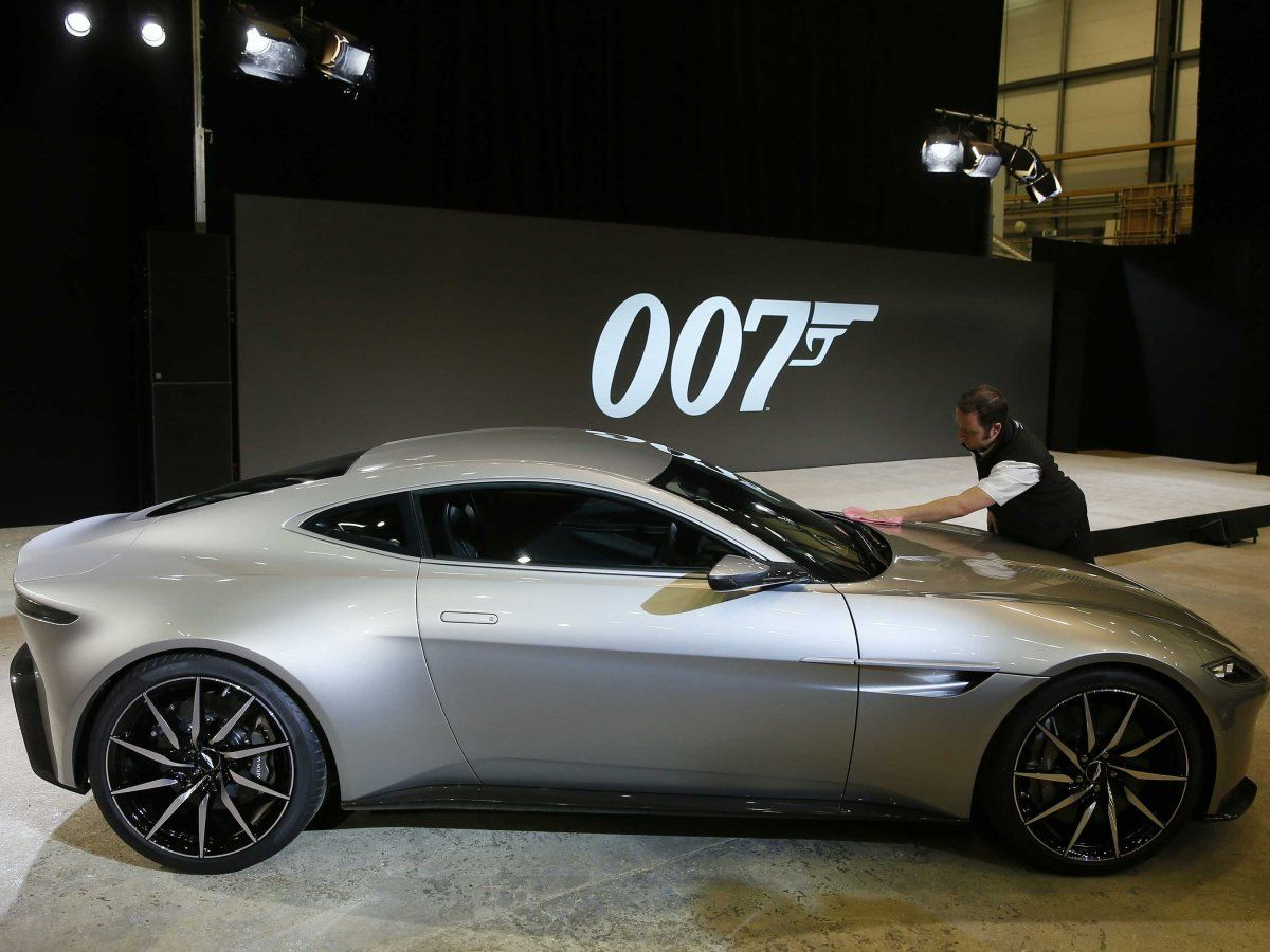 the amazing story of how the aston martin db10 became james bond's