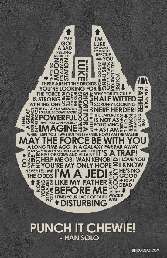 Star Wars | Star wars quotes, Star wars love, Star wars art