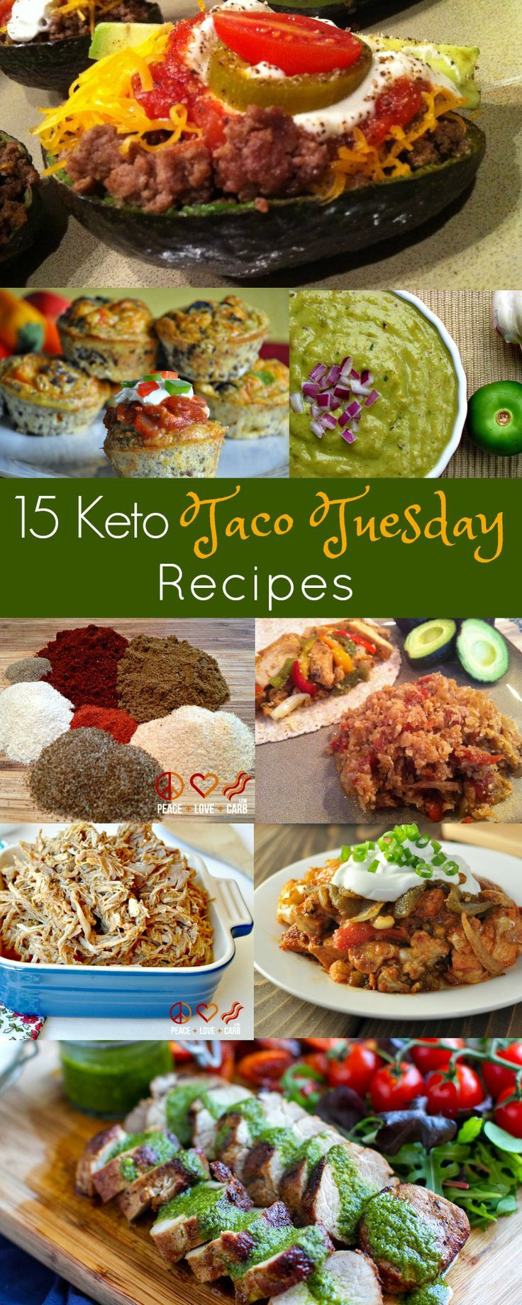 20 Low Carb Keto Taco Tuesday Recipes With Images Keto Diet