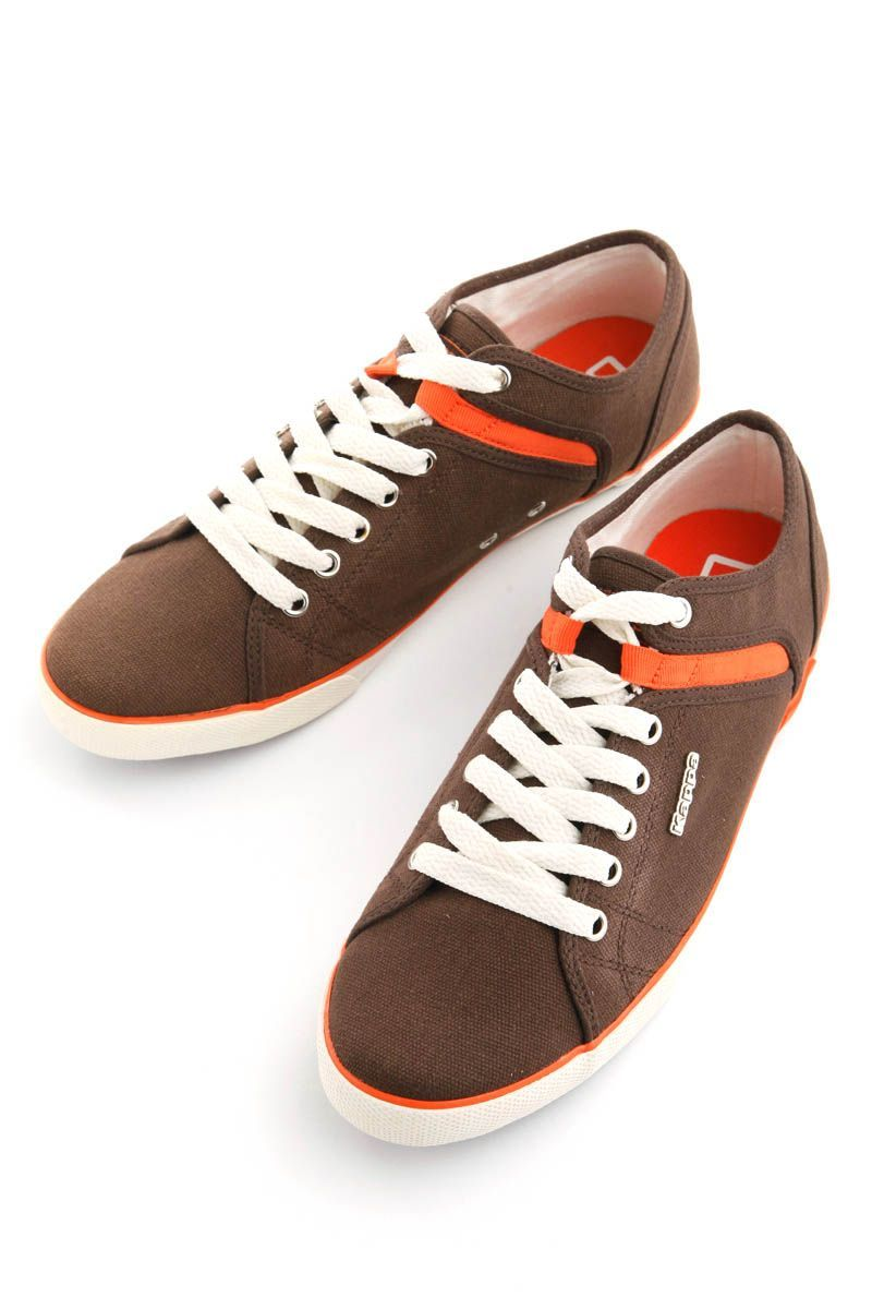 c76c816401 DI Low 07 Canvas Shoes (Brown) from Kappa on Brandsfever | Products ...
