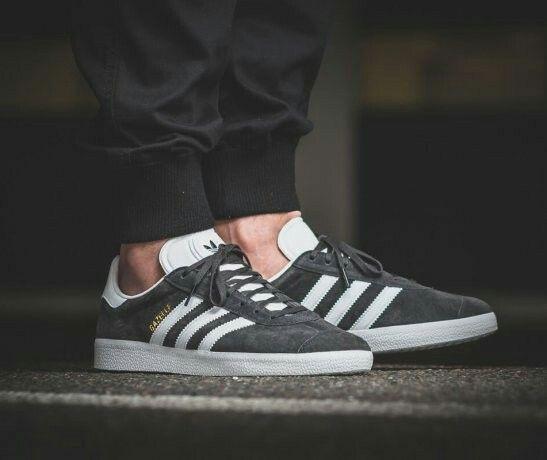 Adidas Gazelle Grey | Sneakers men fashion, Adidas gazelle, Adidas ...