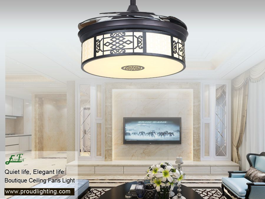 Retractable Ceiling Fans With Light