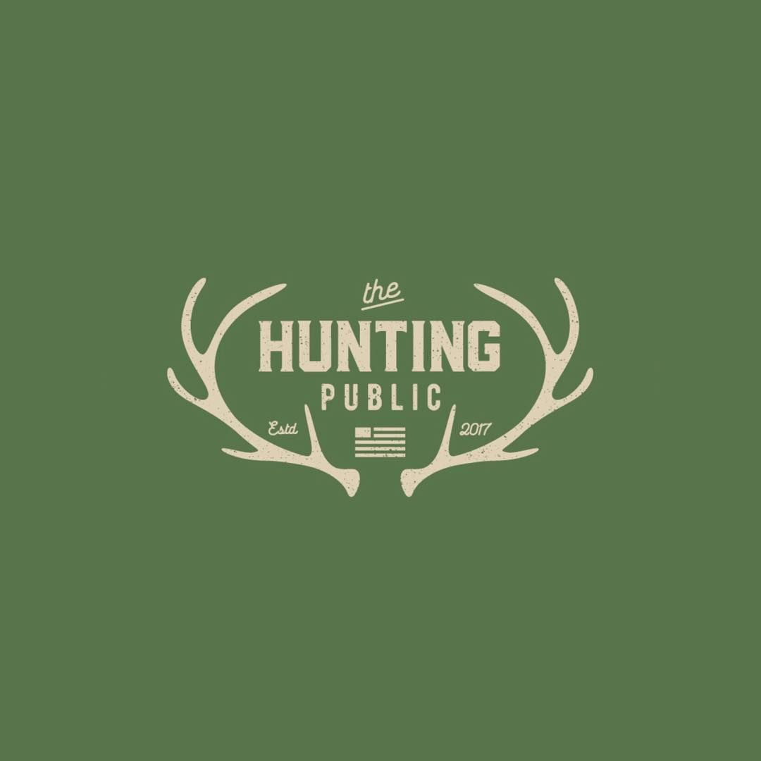 Follow us @logoinspirations The Hunting Public by