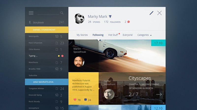 1000+ images about DASHBOARD on Pinterest   Ui design inspiration ...