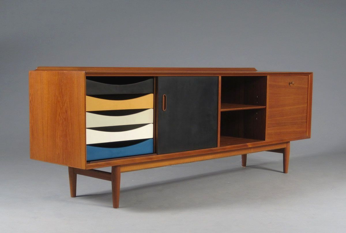 arne vodder sideboard 1965 buildings pinterest. Black Bedroom Furniture Sets. Home Design Ideas