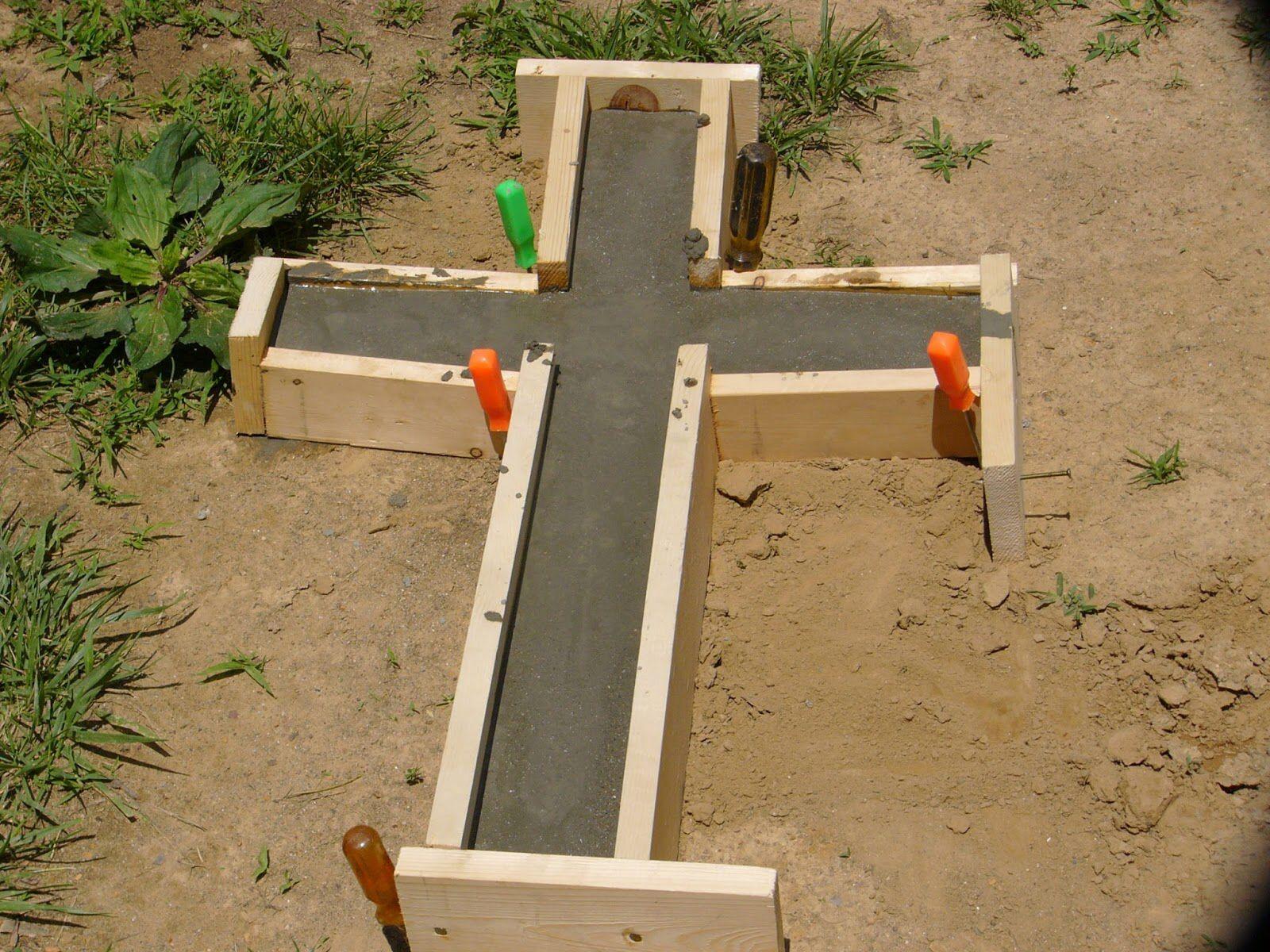 Diy concrete mold making diy concrete cross bright