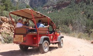 Groupon   Two Hour Old Bear Wallow Jeep Tour For Two, Four, Or Six From Red  Rock Western Jeep Tours (Up To 41% Off) In Multiple Locations.