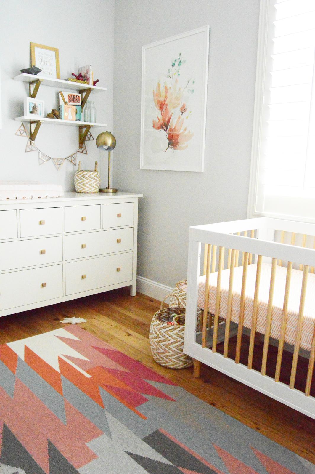 Nursery Interior Designer Blossom A Completed Girl Nursery