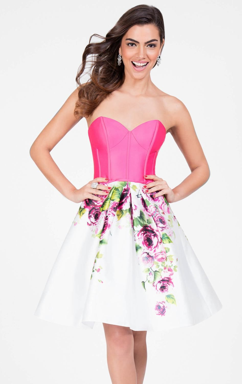 terani 1711P2118 | VESTIDOS ROSADOS | Pinterest | Vestido rosado ...