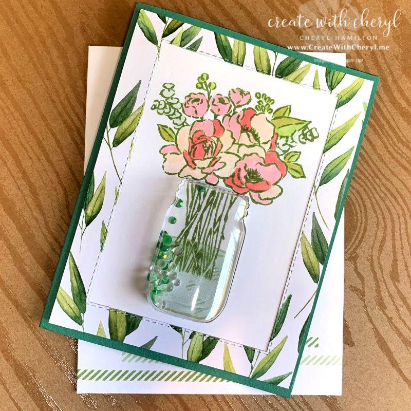 sneak peek the new jar of flowers bundle  create with