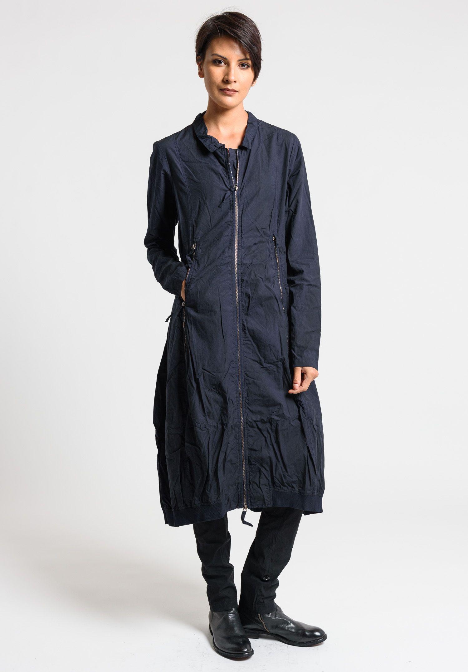 Rundholz dip long jacket dress in blue ink cloud 上衣 pinterest