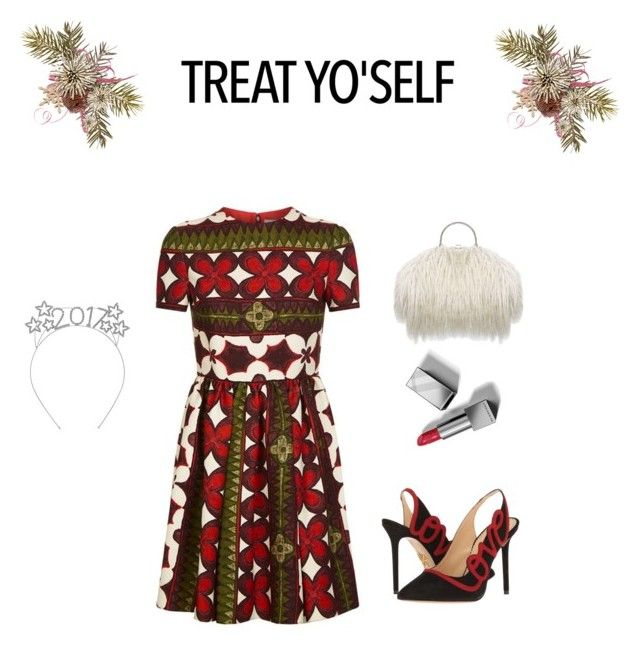 """Untitled #57"" by palak-obhan ❤ liked on Polyvore featuring Valentino, Charlotte Olympia and Burberry"