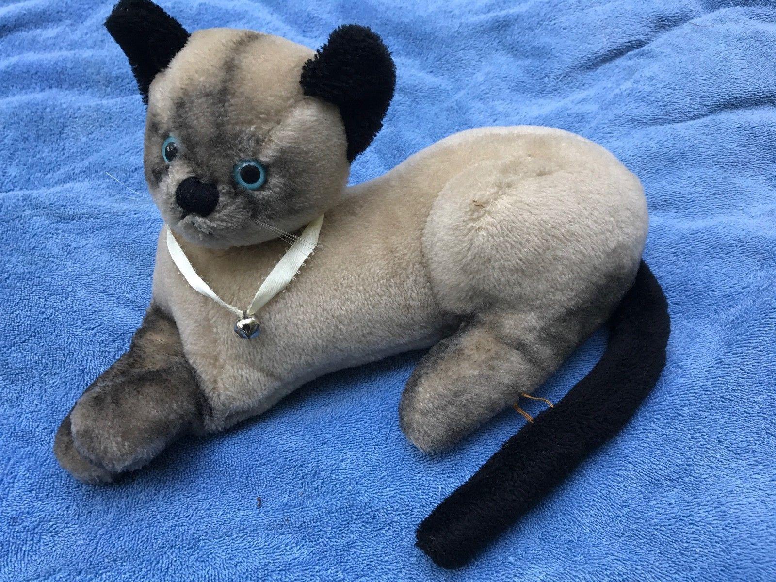 Vintage 1965 Dakin Disney That Darn Cat Moehair Plush D.C