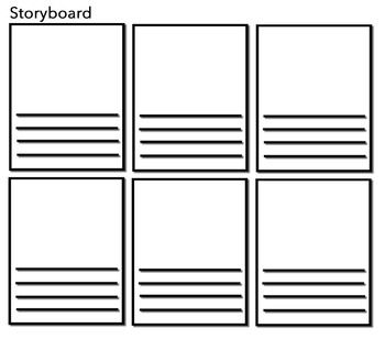Storyboard Great Way To Retell A Story Plan A Film Etc How To