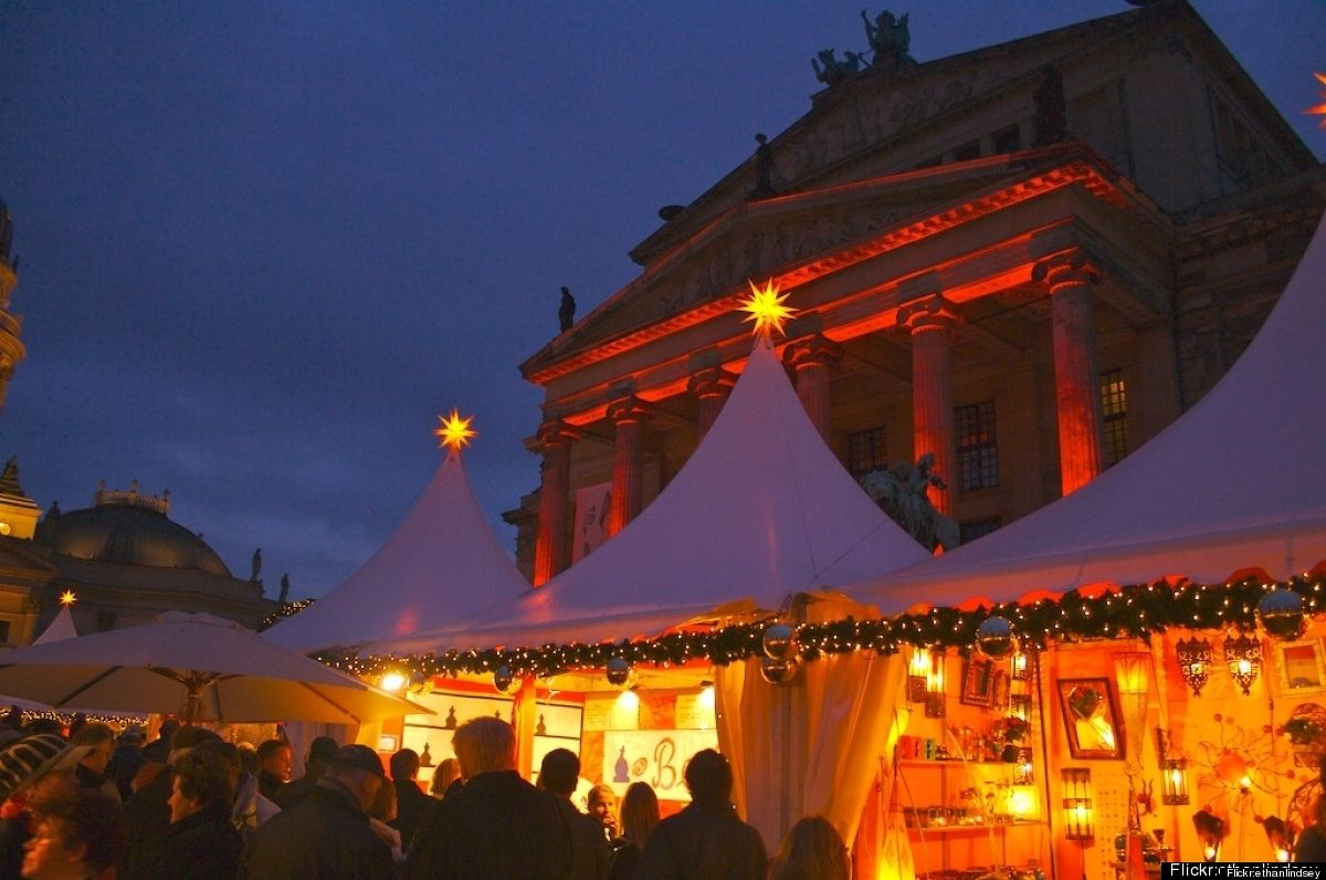 Berlin, Germany  Germany is the home of Christmas Lights so it's no wonder the country's capital really shines during the holiday season.
