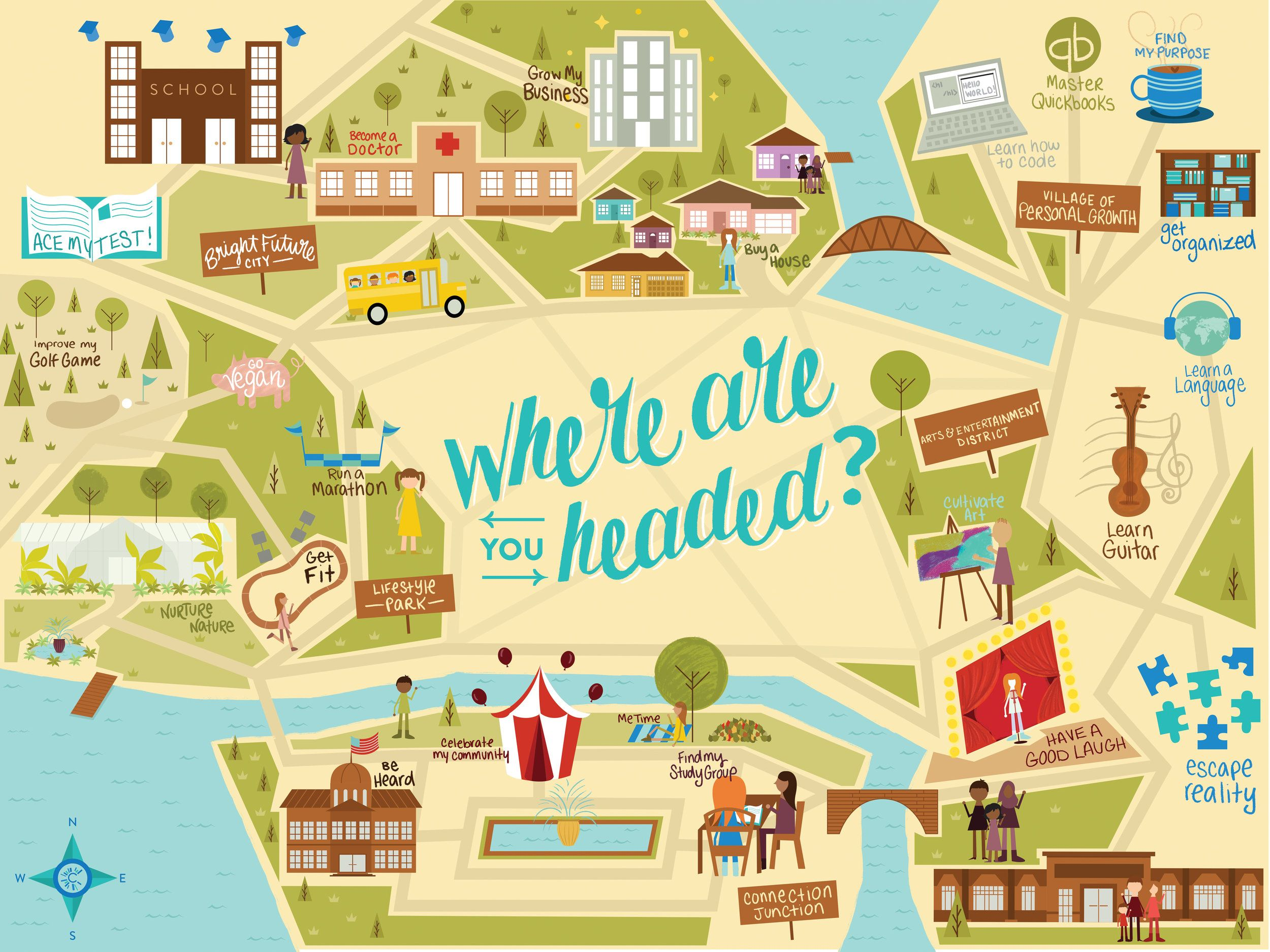 Where Are You Headed Map Design To Help Communicate Canton Public