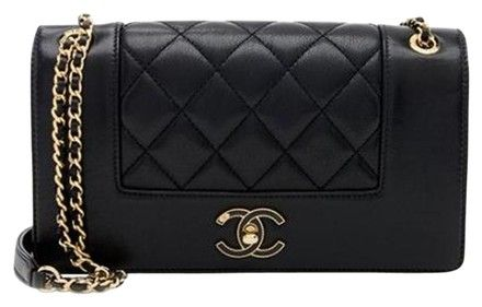c2d1a09104d3 Chanel Classic Flap Satin Cross Body Bag - Tradesy | My Selling ...