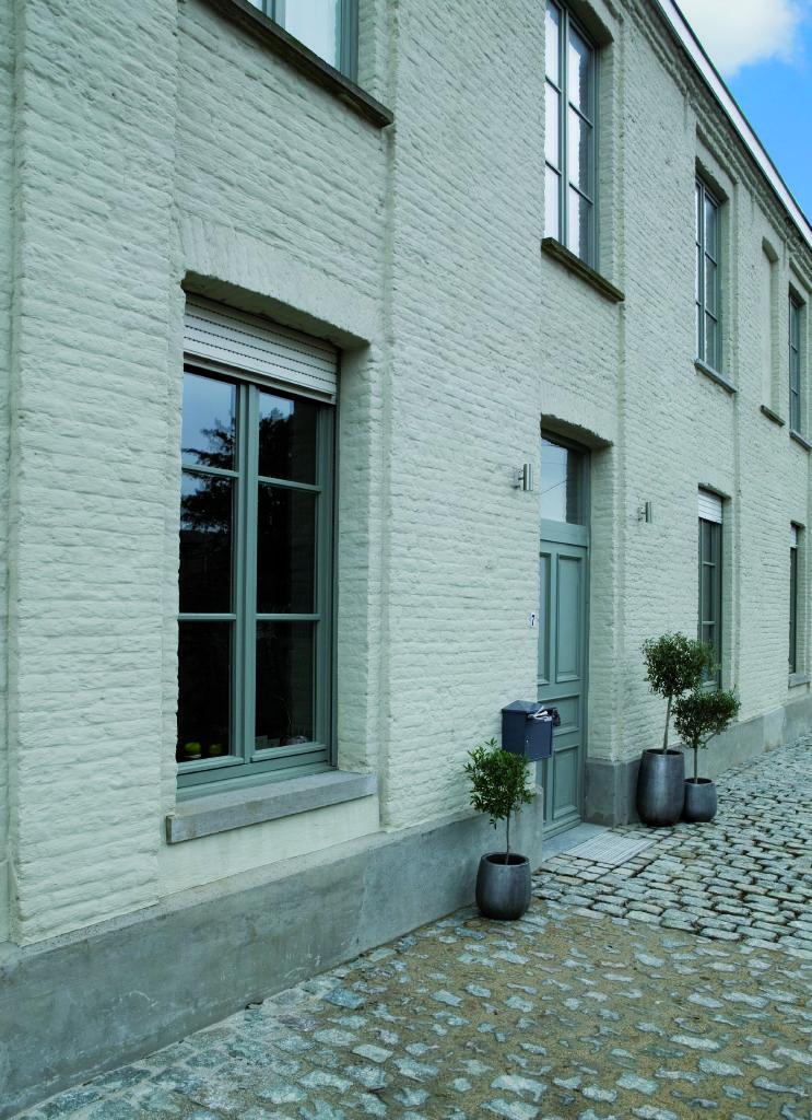 Spiksplinternieuw gevel #schilderen #facade #paint #peinture #verf #exterior #buiten DP-89