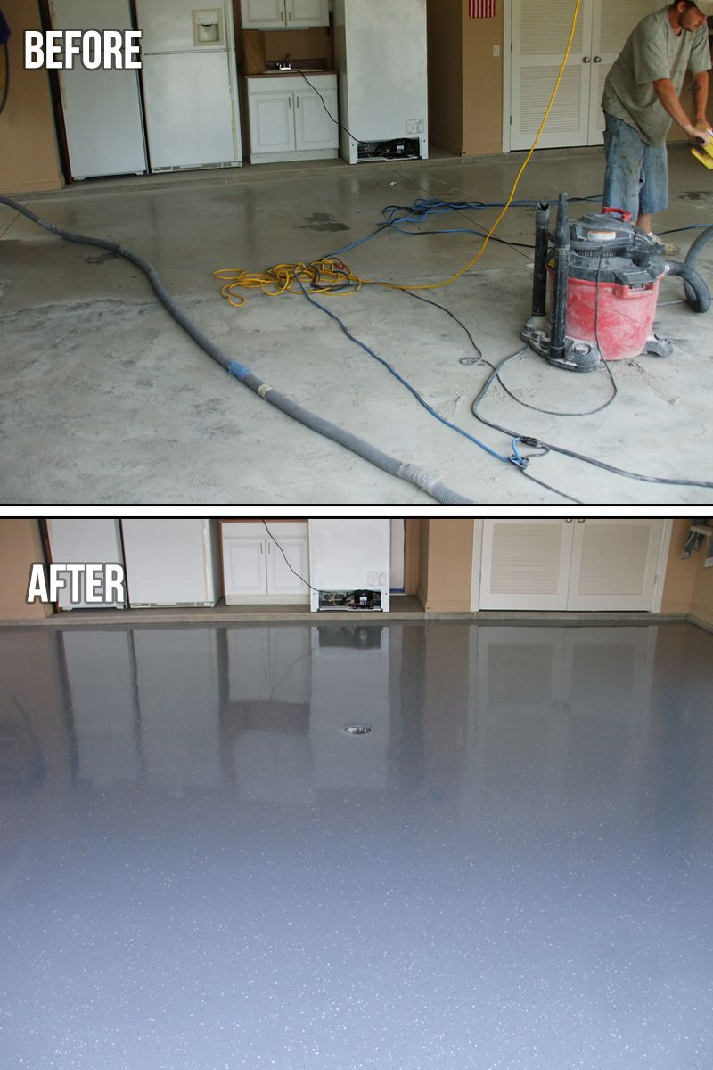 Garage Epoxy Tucson Garage Floor Overview The Protector Flakes System Makes Concrete