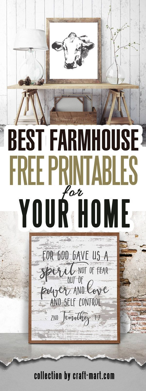 Photo of 100 Best FREE Farmhouse Printables