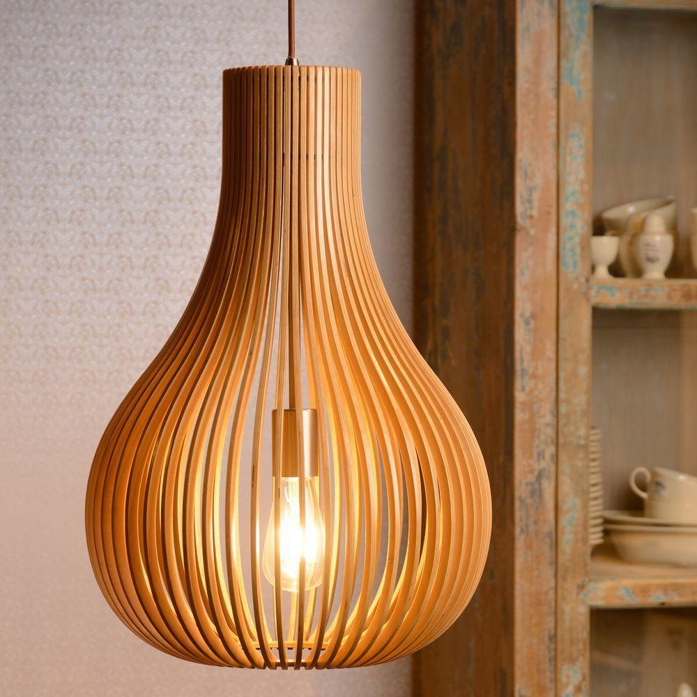 Pendelleuchte Bodo Holz E27 Lampen Pinterest Pendant