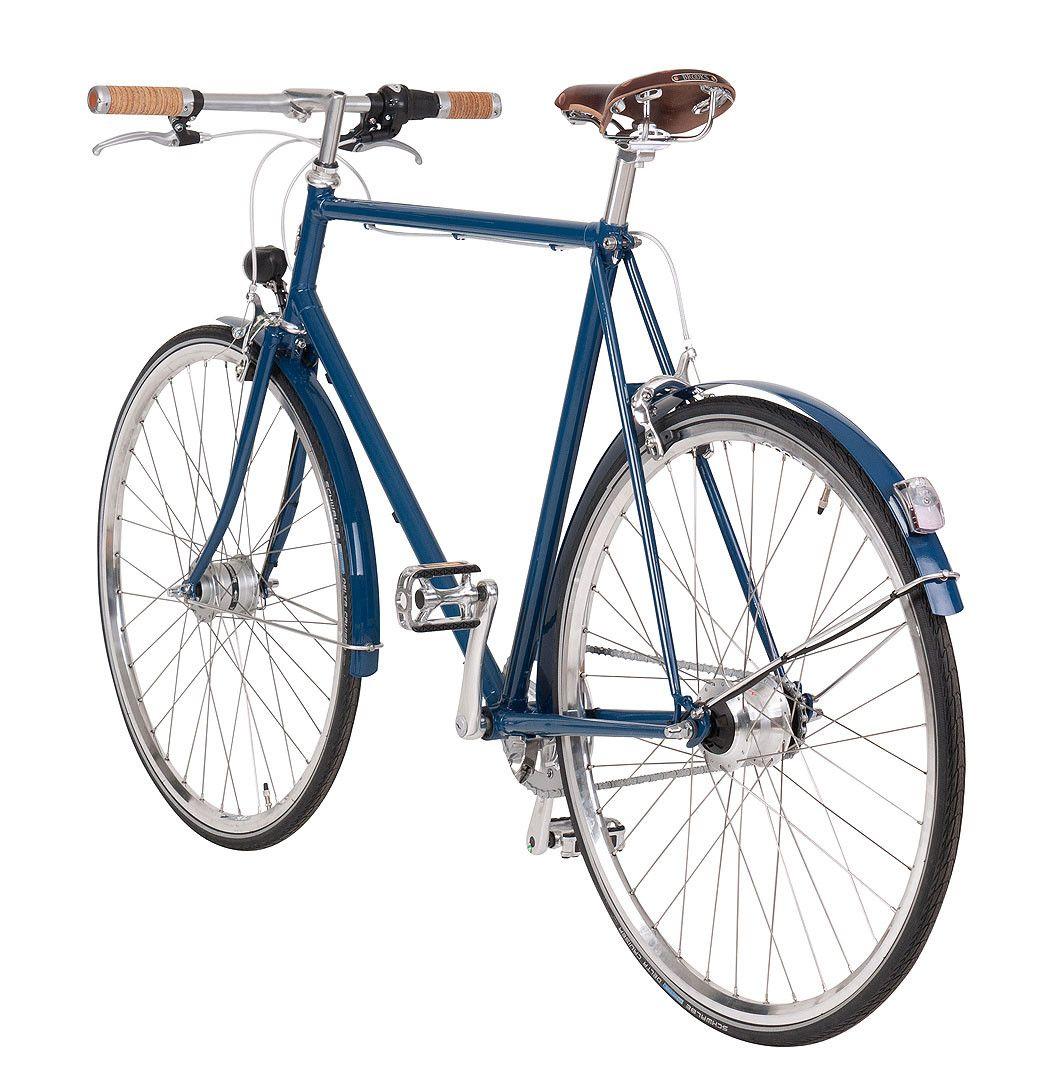 Herrenrad Sport - Klassisches Stahlrahmen Fahrrad handmade in ...