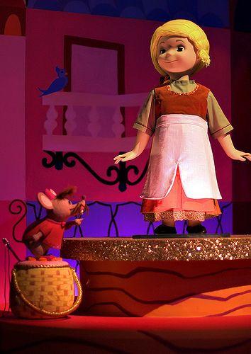 Cinderella in It's a Small World