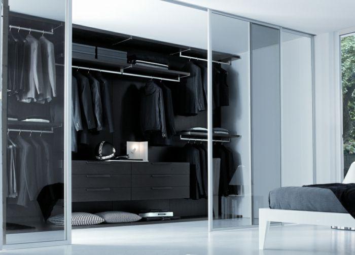 Offener Kleiderschrank – 39 Beispiele, wie der Kleiderschrank ohne Türen modern und funktional ...