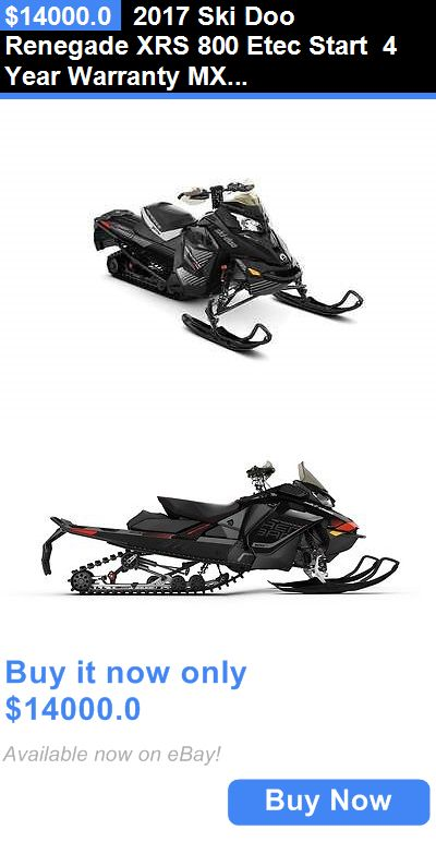 atvs utvs snowmobiles: 2017 Ski Doo Renegade Xrs 800 Etec